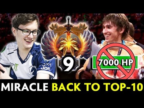 Miracle BACK to TOP-10 RANK — vs 7,000 HP RAID BOSS Mage Pudge