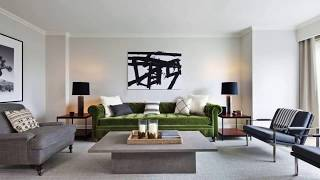 Living room → Ideas of modern design space 2019 ➤ Living room furniture & Decor