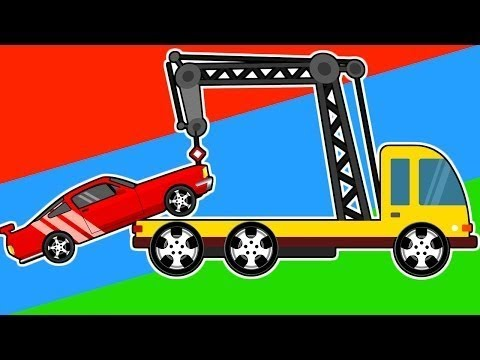 Racing Cars Help w/ Breakdown Car Kids | Cars, Trucks and Emergency Vehicles for Kids