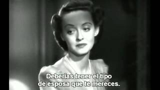 Bette Davis    La Carta 1940 una escena del film.