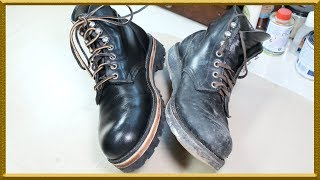 [ASMR] Resole & restore 'Redwing'  2951 change out-sole  4k