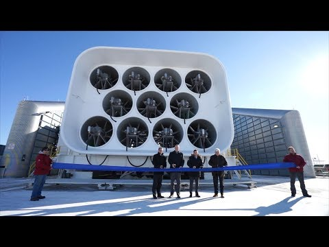 VIDEO: GE opens upgraded aircraft engine testing facility