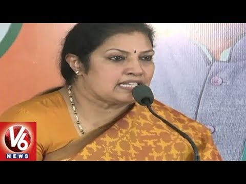 BJP Leader Purandeswari Speaks On No Confidence Motion | Hyderabad | V6 News