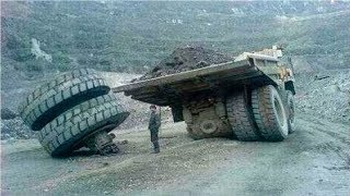 Dangerous Idiots Operator Dump Trucks at Works || Best Truck Disasters Compilation