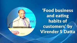 Food business and eating habits of