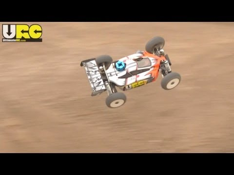 Duratrax 835B nitro 1/8th scale buggy at play