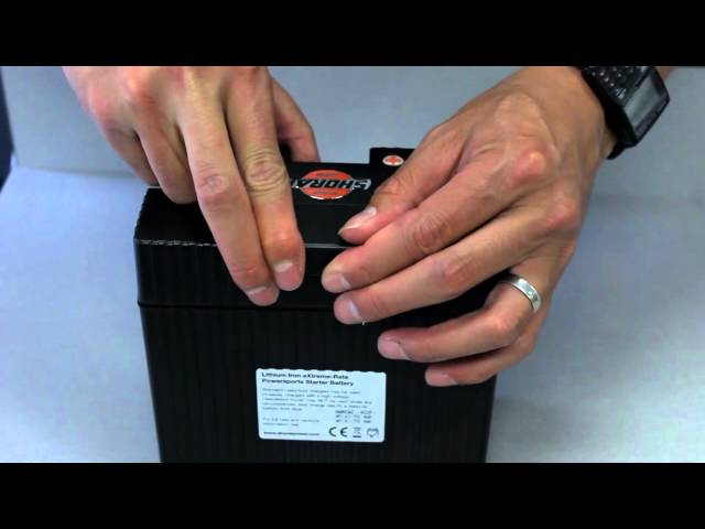 Shorai Motorcycle Battery Preparation Video
