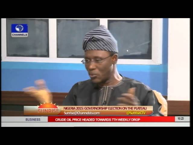 Plateau: PDP Gov'ship Candidate Defends His Emergence As Flagbearer Pt.1
