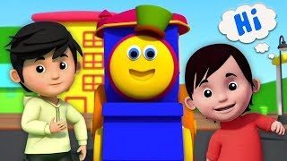 bob le train   chanson de voeux   Bob The Train Greeting Song   Learning Street with Bob