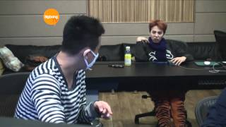 BOM Working with GD & TOP! [HD] [ENG]
