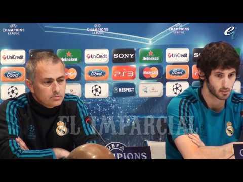 Mourinho en la previa de Champions ante el Bayern