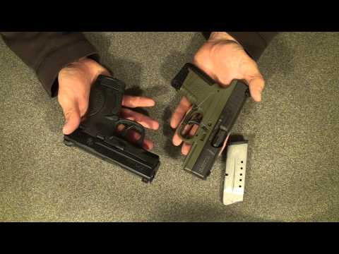 M&P Shield First Impressions vs the Walther PPS and Glock 26