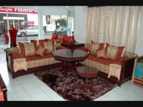 Salon marocain 2014 moderne youtube - Photo de salon marocain moderne ...