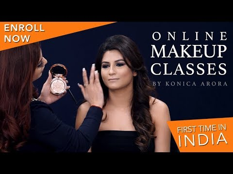 Best Makeup Tutorial | Step By Step Makeup Tutorials | Online Makeup Classes | Krushhh By Konica