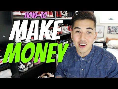 How To EASILY Make MONEY in High School (For Kid Teen Sneakerheads)