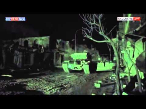 الصور الأولى لعملية الجيش التركي بسوريا