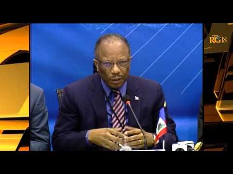 Réunion de la Commission Mixte Bilatérale Dominicaine – Haïtienne.