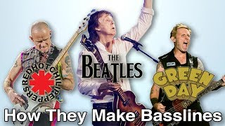 How Flea,  Paul McCartney, and Mike Dirnt Write Their Basslines: Basslines From Scratch 8/9