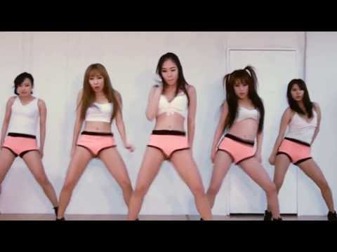 Korean Sexy Girl Twerking - Ain't A Party David Guetta (cover Dance) video