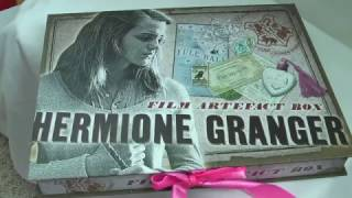 Hermione Granger Film Artefact Box - The Noble Collection Review By Movie Figures