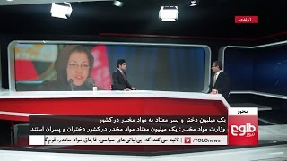MEHWAR: Over A Million Afghan Youths Addicted to Drugs