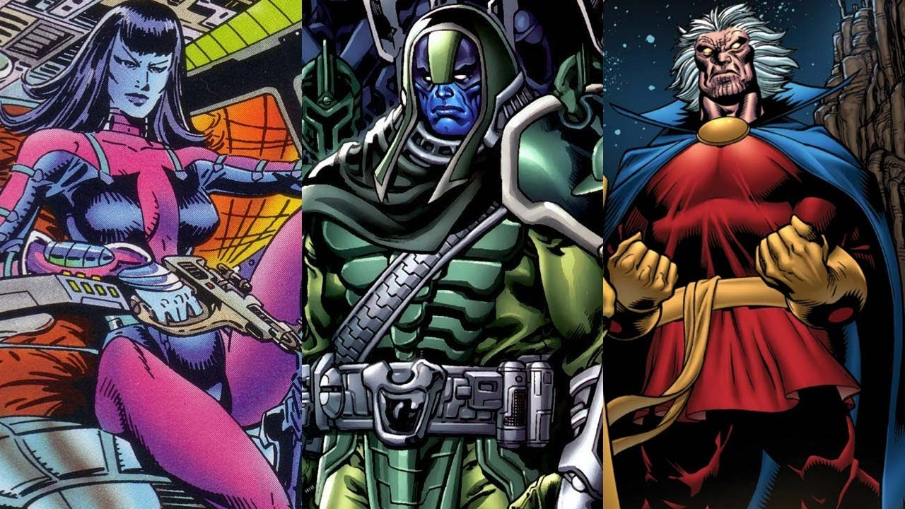 Ronan The Accuser Vs Thor   Ronan The Accuser Vs Thor