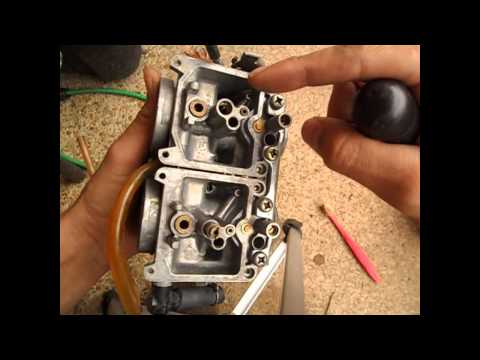 Ninja 250 carb cleaning tips - video demonstration