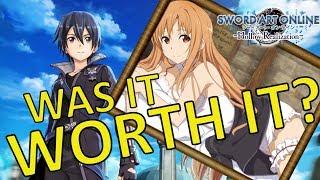Was it worth it? Sword Art Online Hollow Realization