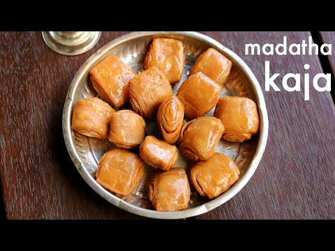 khaja recipe | khaja sweet | खाजा बनाने विधि | madatha kaja recipe | kaja sweet recipe