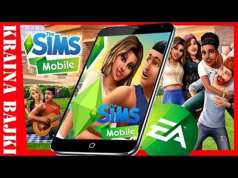 THE SIMS MOBILE! Tworzymy Sima I Moja Pierwsza Praca GRY NA TELEFON
