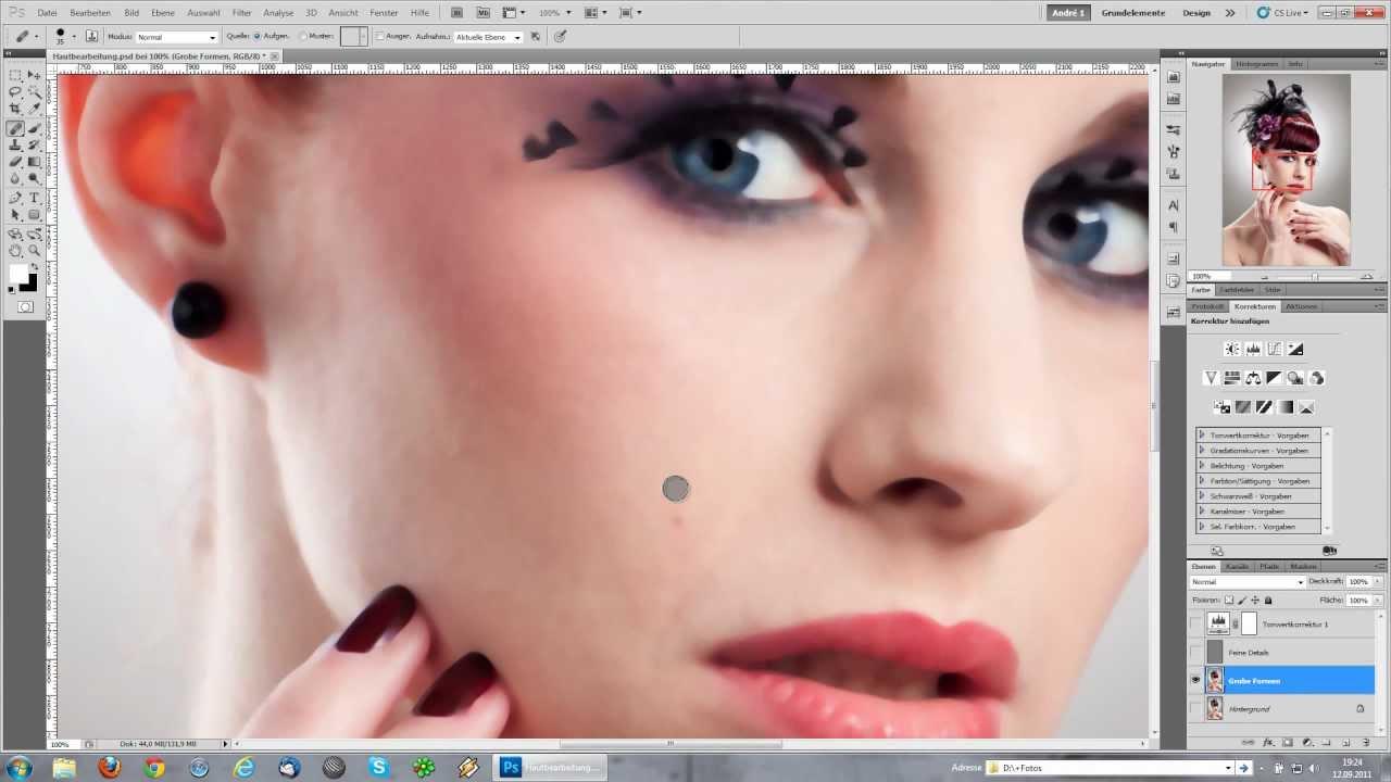 10 Video-Tutorials zur Beauty-Retusche in #Photoshop ...