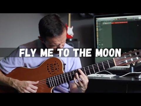 Fly Me To The Moon (Solo Jazz Guitar)