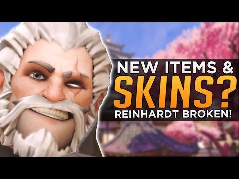 Overwatch: New Loot & SKINS Coming!? - Reinhardt Still BROKEN!