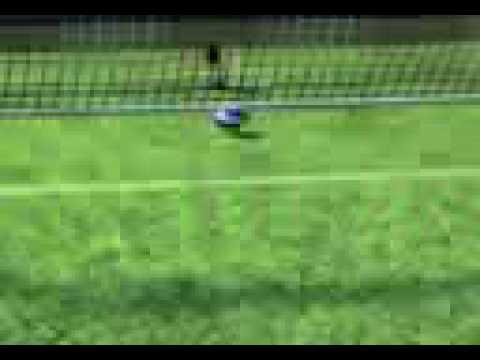 fantastico goal da centro campo
