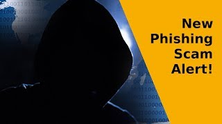 Security Alert | New Phishing Scam - Very Hard To Detect #cybersecurity #phishing