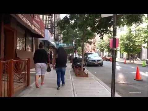 Walking in Harlem - East Harlem - 125th street - Central Park