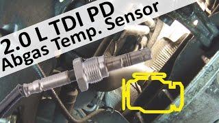 Abgastemperatursensor nach partikelfilter wechseln und Fehlerdiagnose