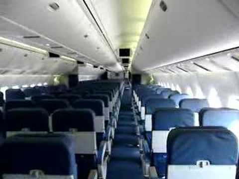 Delta 767 400 Cabin Youtube
