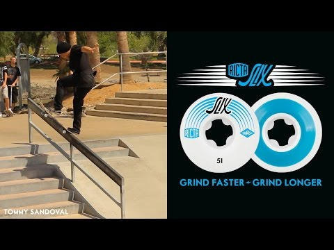 Tommy Sandoval Tests Out The New Ricta Slix!