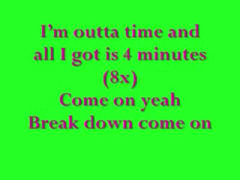 madonna and justin timberlake ft timberland 4 minutes lyrics (song)