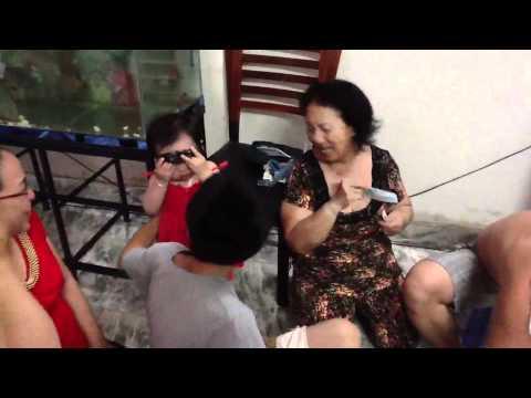 Tet Nham Thin 2012 - Mung 3 - Bau cua ca cop - tap 3