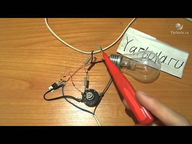 Как сделать реостат своими руками на 12 вольт