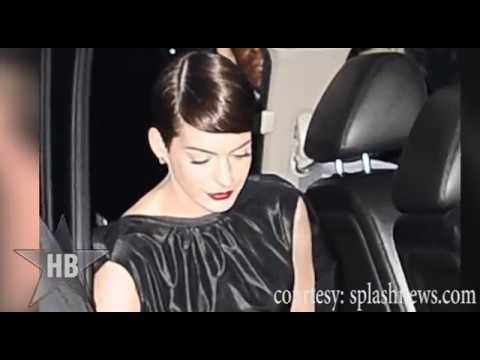 Anne Hathaway PANTY LESS - Wardrobe Malfunction