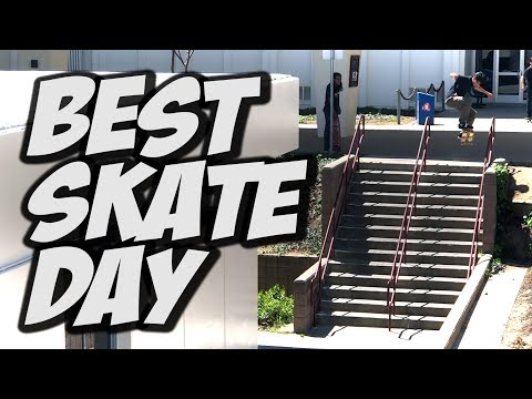 BEST SKATE DAY THIS YEAR !!! - NKA VIDS -