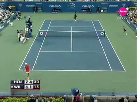 Justine Henin vs Serena Williams QF 2007 11/11