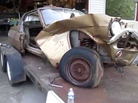 1965 Mustang drip rail repair - YouTube
