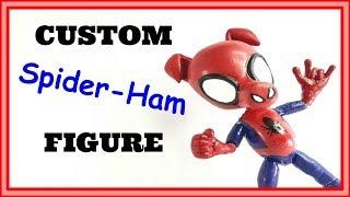 Custom Spider Ham Figure