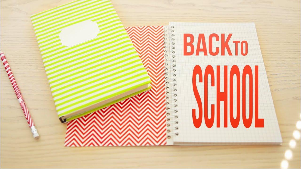 Как сделать тетрадь для школы своими руками из бумаги 52