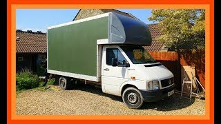 Luton Van Tiny Home Conversion - VW LT35