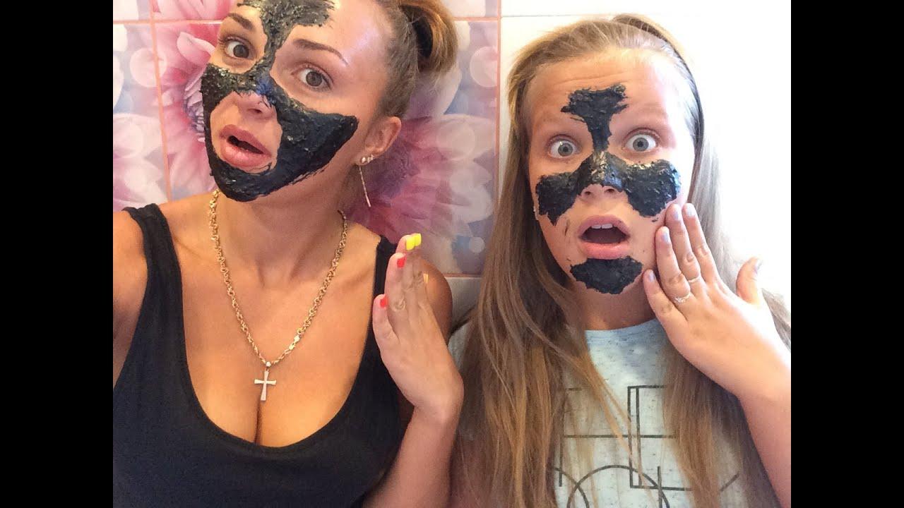 Как сделать чёрную маску для лица